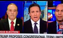 CNN interrumpe el discurso de un congresista mientras acusaba a Clinton