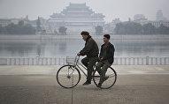 Pyongyang, la capital de Corea del Norte.