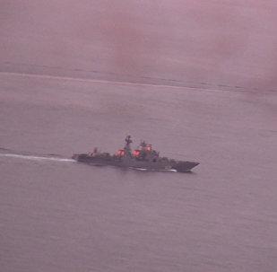 Portaaviones ruso pasa por aguas internacionales cerca de la costa noruega en su camino hacia Siria