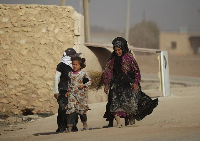 Habitantes de Alepo (archivo)