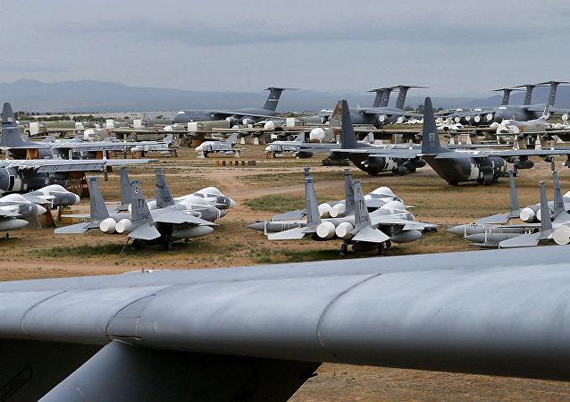 Davis-Monthan, reserva estratégica de la flota aérea de EEUU