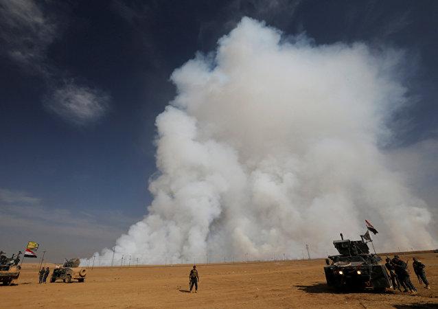 La situación en Mosul, Irak (archivo)