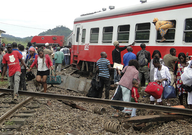Accidente de tren en Camerún