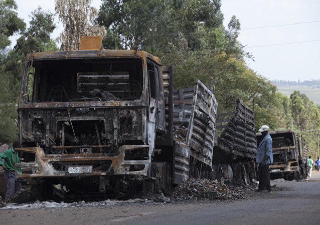 Situación en Etiopía