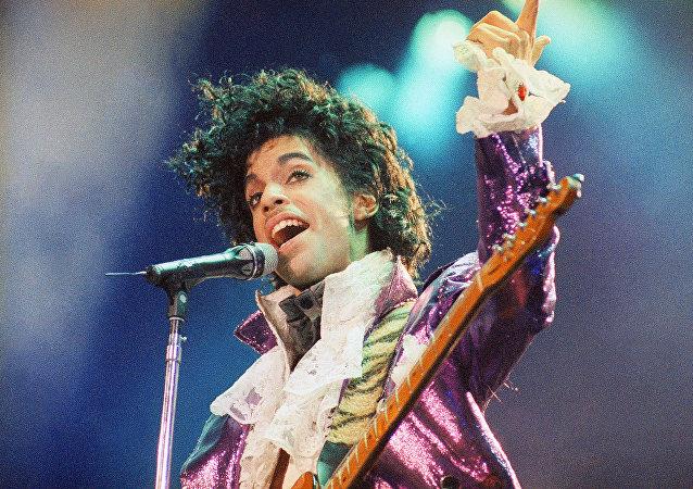 El ícono pop Prince
