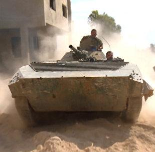 Ejército sirio lanza ofensiva en las afueras de Damasco