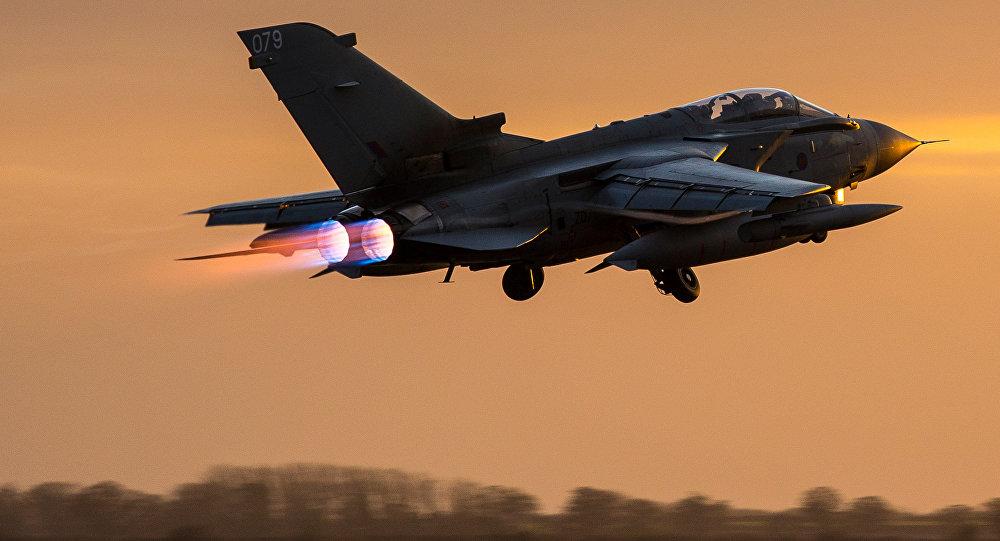 Caza Tornado de la RAF británica (Archivo)