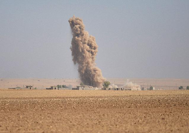La operación en Mosul, Irak (archivo)