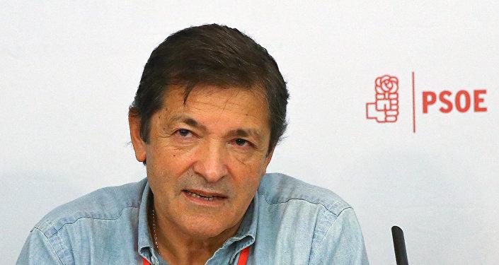 Javier Fernández, el presidente de la Comisión Gestora del PSOE