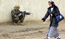 Un militar estadounidense en Irak (2003)