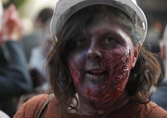 Una zombie