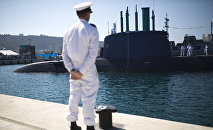 Un submarino israelí de la clase Dolphin