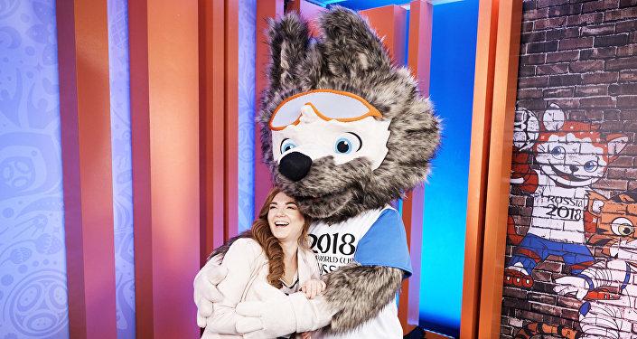 Zabivaka, mascota del Mundial 2018