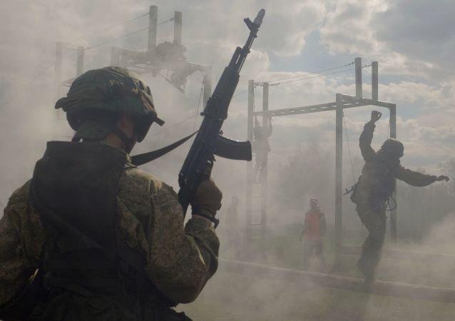 Las maniobras en Rusia