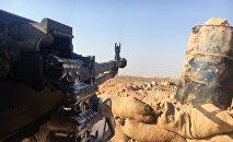 Una posición del Ejército sirio en el sur de Alepo  ( archivo)