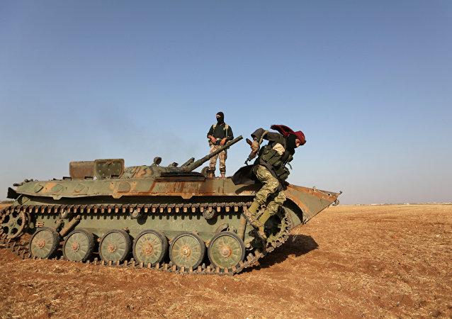 Rebeldes sirio (archivo)