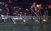 Сomienza la construcción de la carretera del puente de Crimea