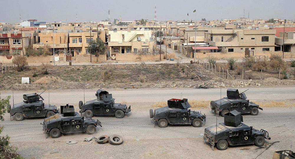 Fuerzas especiales de Irak en Mosul