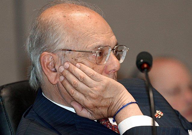 El expresidente de Uruguay, Jorge Batlle