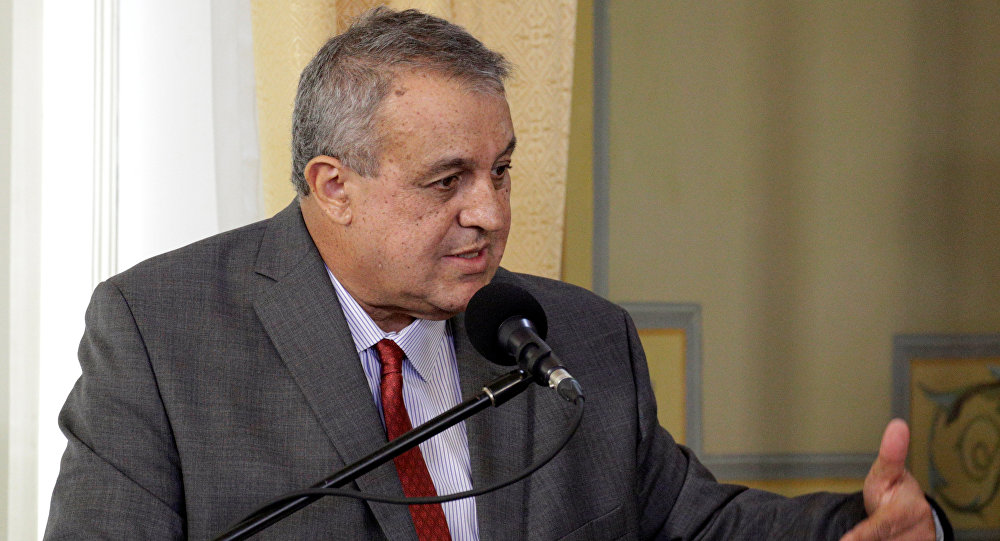 Eulogio del Pino, ministro de Petróleo y Energía de Venezuela (archivo)