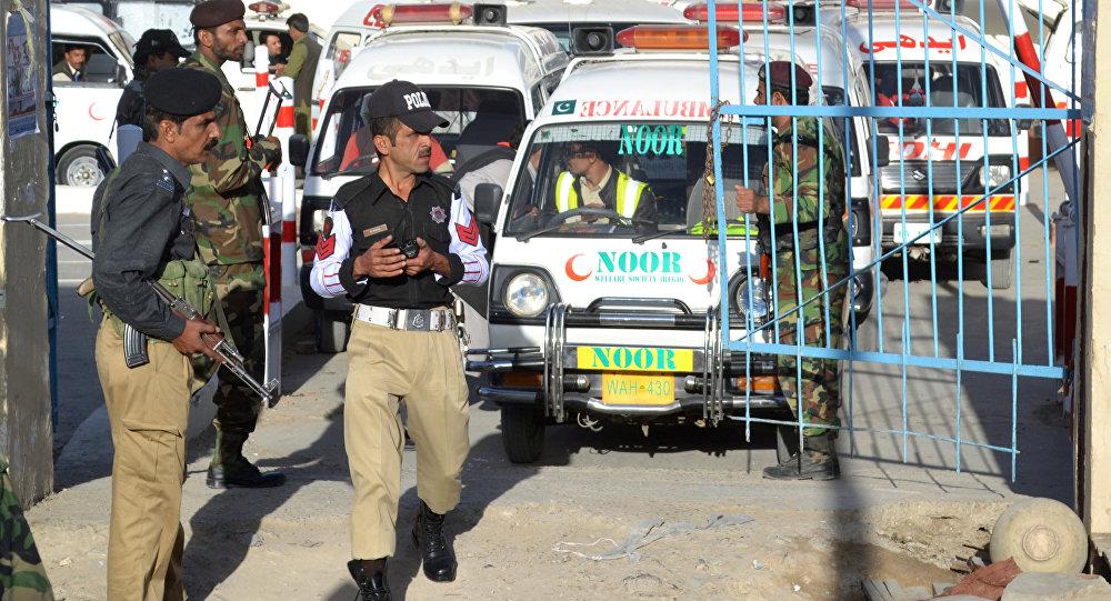 Ambulancia pakistaní (archivo)