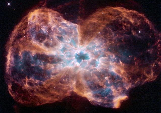 Imagen de la estrella similar al Sol, sacada por el telescopio Hubble