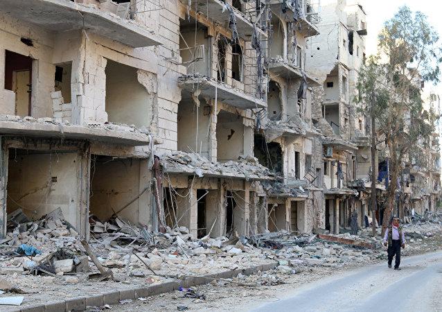 La ciudad de Alepo (Archivo)