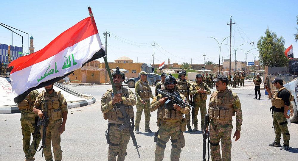 Militares de Irak en la ciudad de Ar Rutba (archivo)