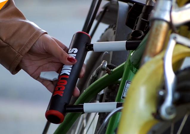Skunklock: candado de bici que provoca vómitos al ladrón