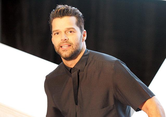 Ricky Martin, cantante puertorriqueño