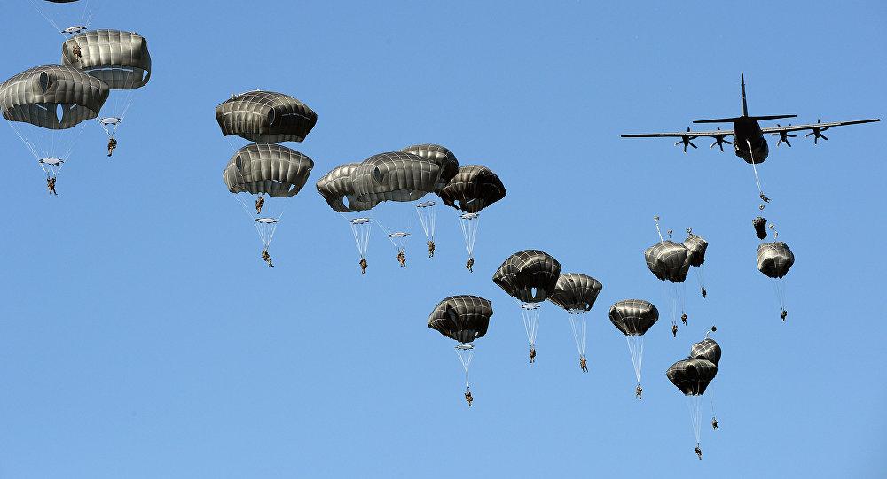 Los ejercicios de las Fuerzas Aerotransportadas estadounidenses en Polonia