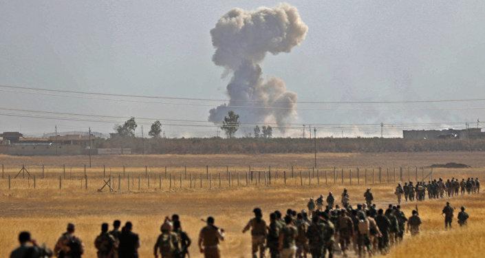 Los soldados kurdos (Archivo)