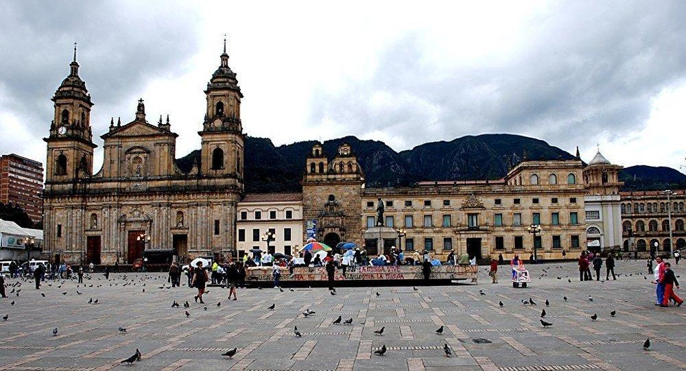 Plaza de Bolívar en Bogotá