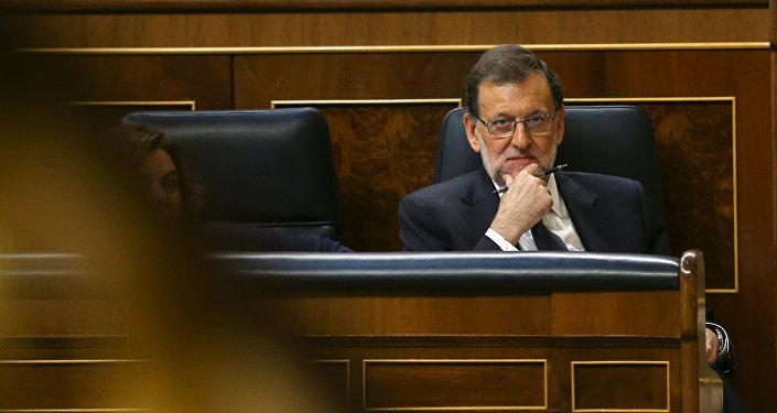 Presidente del Gobierno español Mariano Rajoy