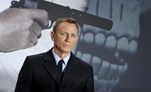 Actor británico Daniel Craig, que interpreta a James Bond