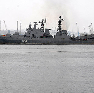 Buque antisubmarino del proyecto 1155 AlmiranteTributs