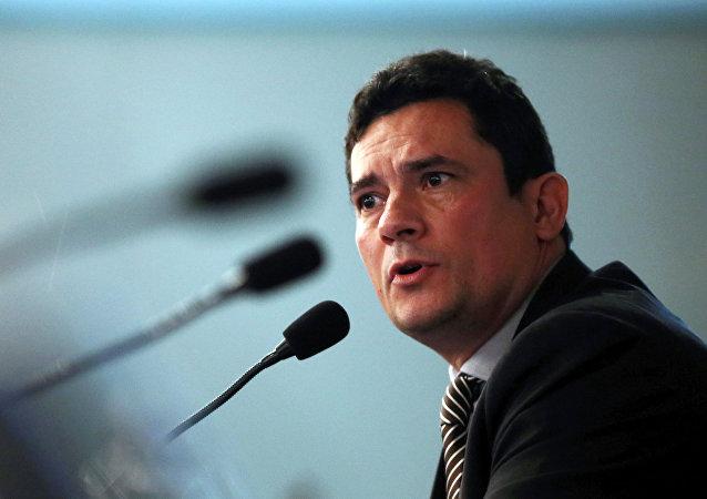 Sérgio Moro, ministro de Justicia del Gobierno de Brasil