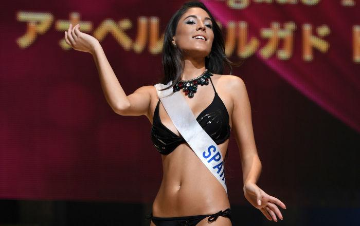 La participante española Anabel Delgado Torres