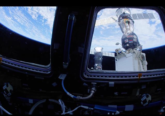 Vídeo de la EEI de la NASA