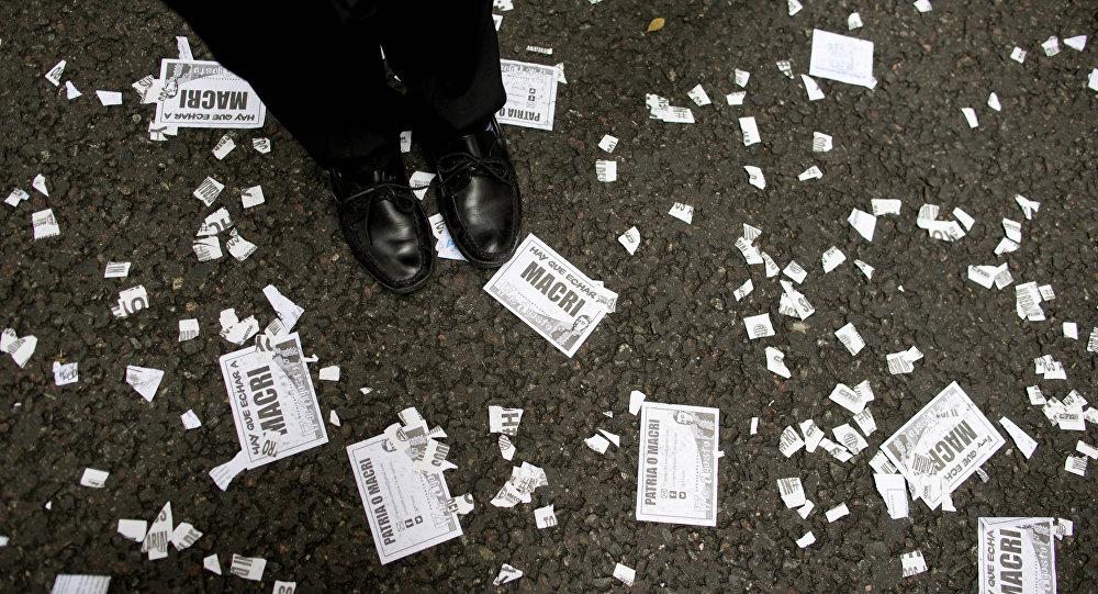 Una protesta en Argentina (archivo)