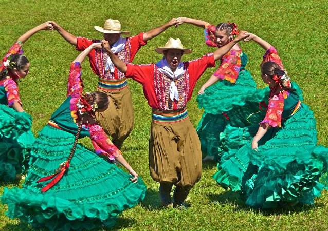 Una danza paraguaya