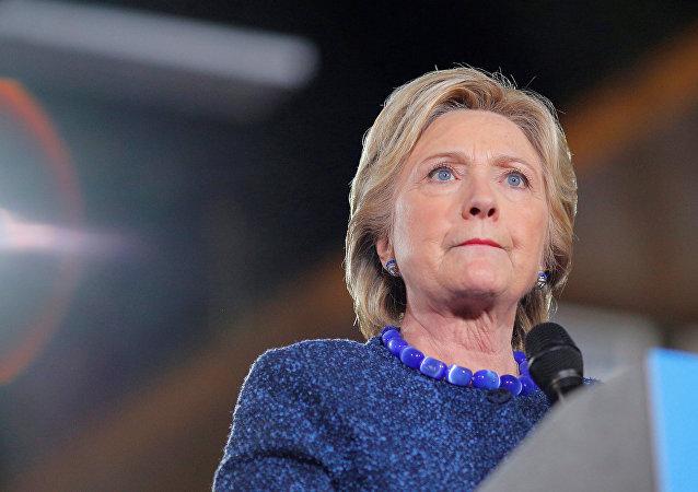 Hillary Clinton, excandidata presidencial de Estados Unidos