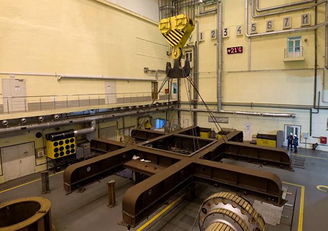 Un año de modernización de la central hidroeléctrica de Novosibirsk en cuatro minutos