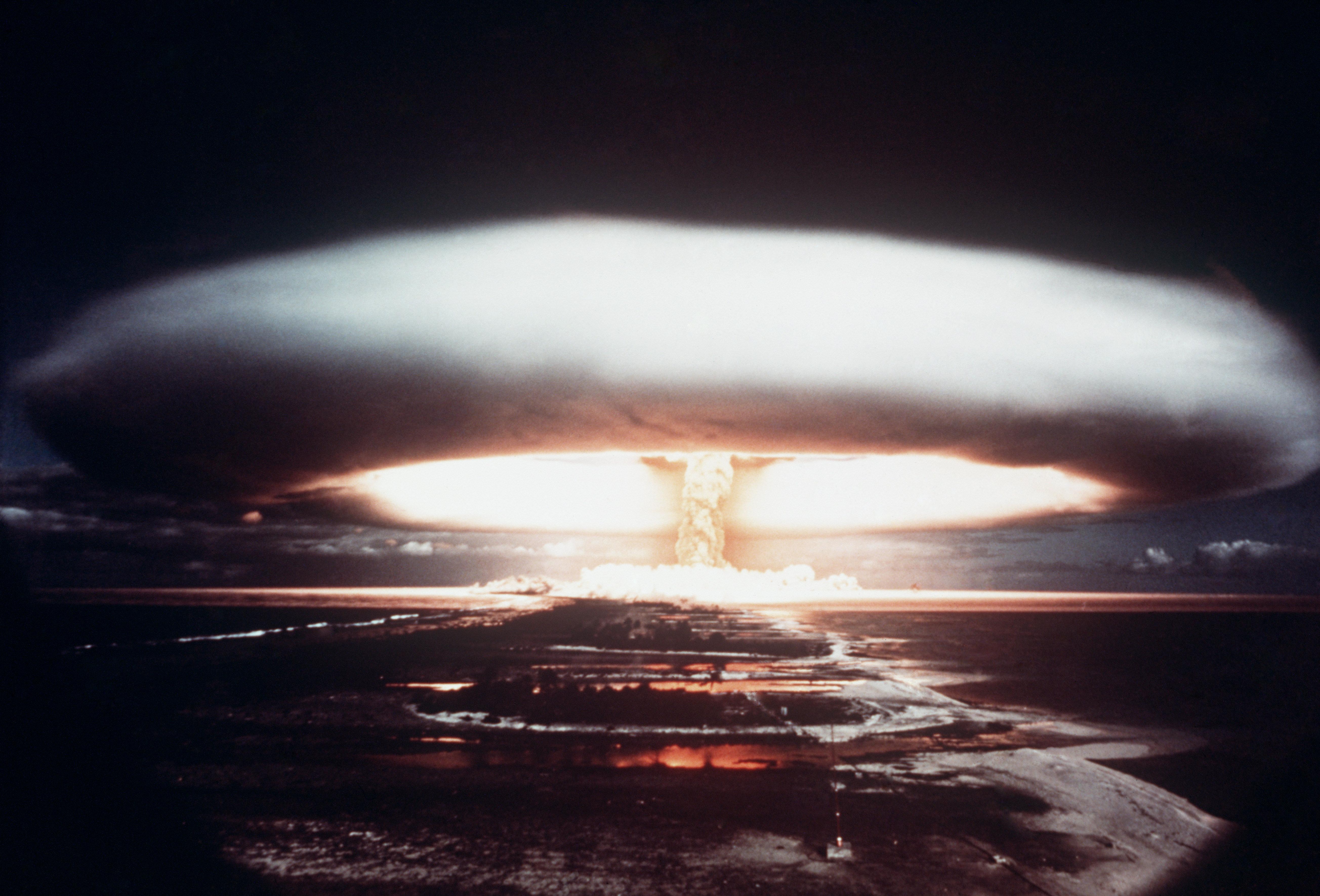 La prueba nuclear del 1971 en el atolón de Mururoa