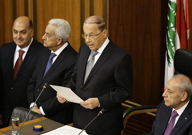 Michel Aoun, el presidente electo de Líbano