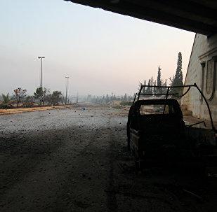 La ruta a Alepo