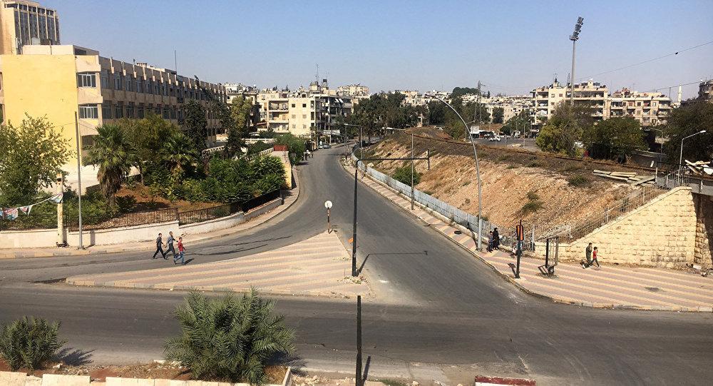 Un corredor humanitario al norte de Alepo