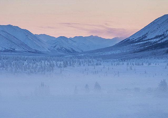 Región de Oymiakón en Yakutia
