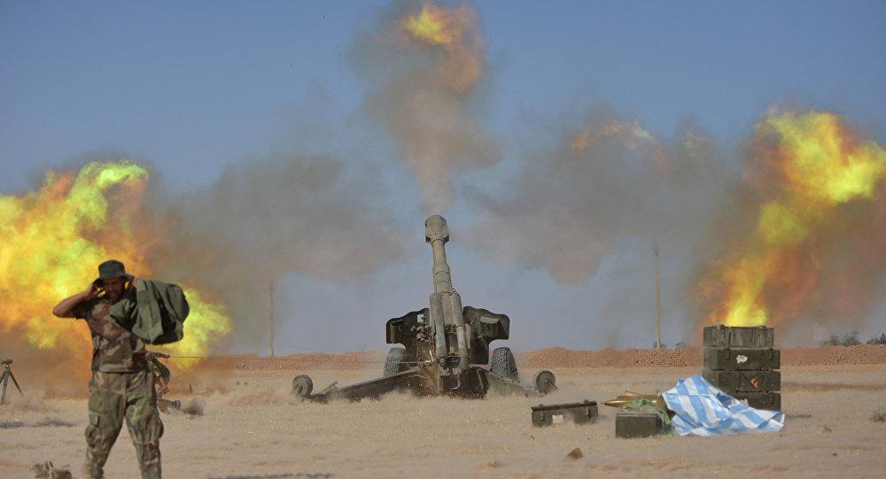 La operación antiterrorista en Mosul