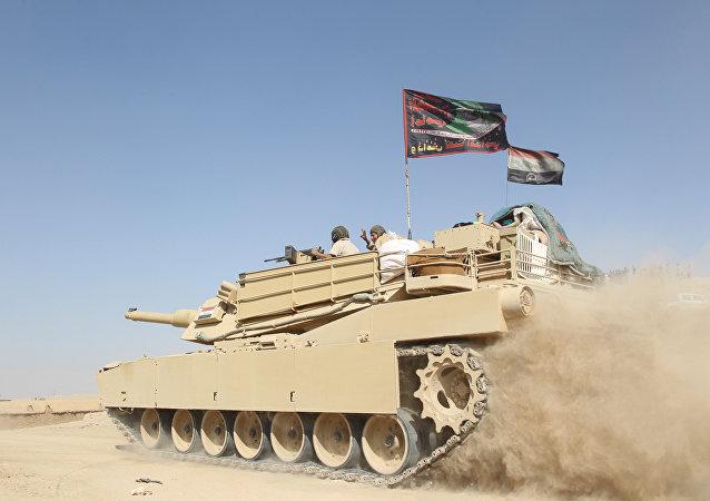 Tanque del Ejército iraquí (archivo)